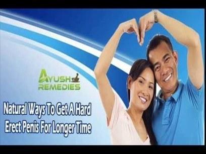 Natural Ways Stay Erect Longer