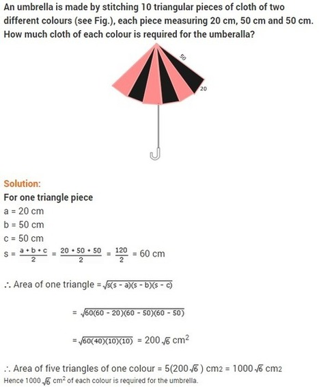 ncert solutions for class 9 maths chapter 12