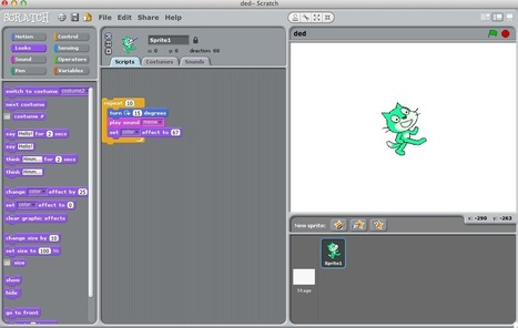 Enseña a tus estudiantes a programar con Scratch | ICT hints and tips for the EFL classroom | Scoop.it