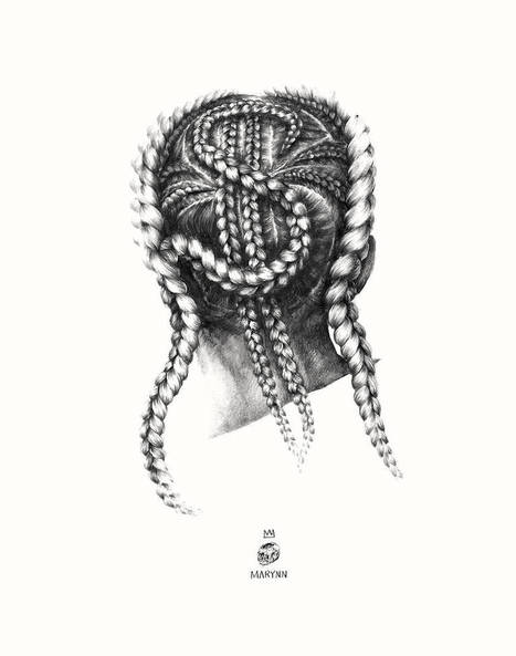 Stunning #Pencil #Illustrations by Marynn. #art #hair #hairstyles #portraiture | Art-Arte-Cultura | Scoop.it