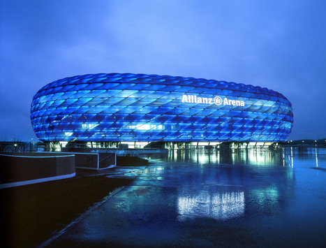 5 of the best: sporting venues   Architecture and Architectural Jobs   Scoop.it