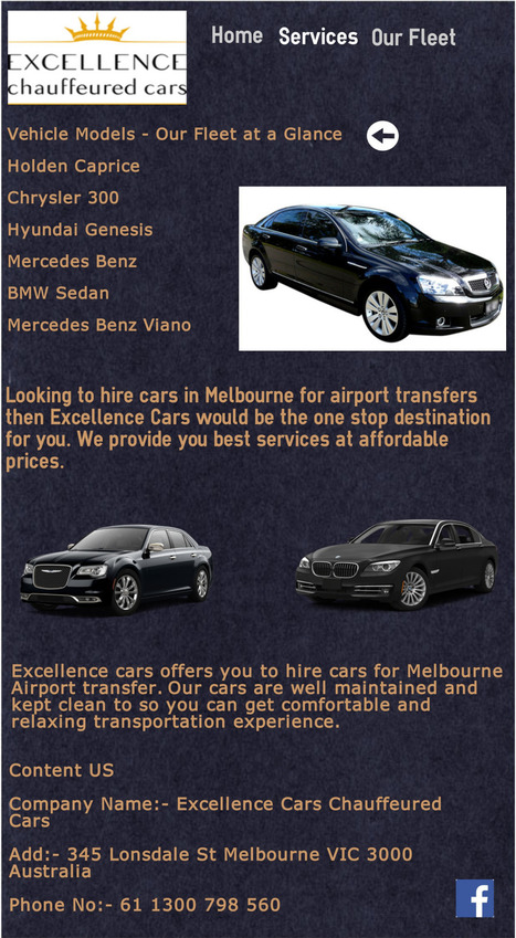 Airport Transfers In Melbourne Scoop It