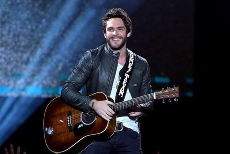Thomas Rhett Hits No. 1 With 'Die a Happy Man' | Country Music Today | Scoop.it