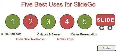 New tool! SlideGo - Interactive Slides   Digital Presentations in Education   Scoop.it