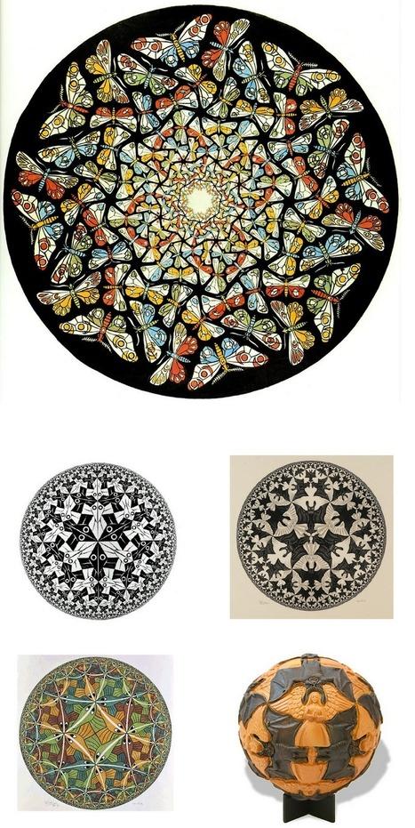 Escher et les sciences: l'obsession de l'infini   Science techno   Scoop.it
