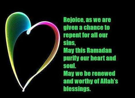 happy ramadan is coming quotes and saying