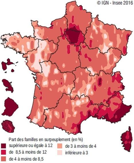 Insee - Territoire - Où vivent les familles en France ?   développement économique et territoires   Scoop.it