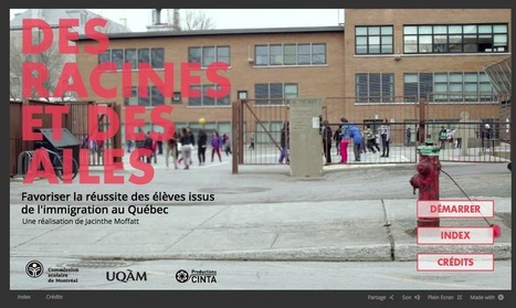 Webdocumentaire : favoriser la réussite des élèves issus de l'immigration | New Journalism | Scoop.it