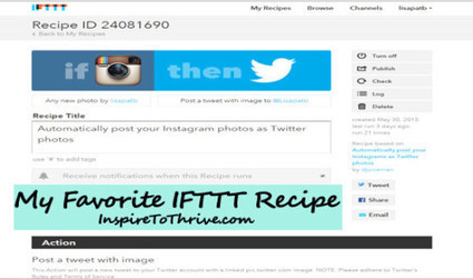 How IFTTT AutomatedLife Can Save You Valuable Time | Inspiring Social Media | Scoop.it