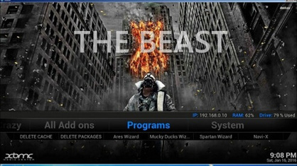 Here's How to Install The Beast Kodi USA Build