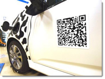 Chevrolet Spark EV prototypes feature QR code - QR Code Press | AniseSmith QR codes | Scoop.it