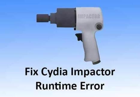 Fix Cydia Impactor Stuck on Verifying Applicati