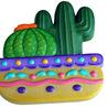 Barrel Cactus Ceramic Magnet