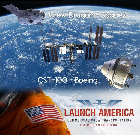 Boeing e SpaceX si aggiudicano il contratto CCtCap - AstronautiNEWS | astronotizie | Scoop.it