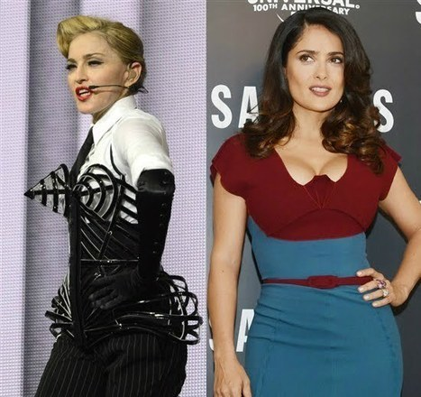 Celebrity for the World: Salma Hayek, the luckiest in Holly Wood as she thinks herself to be | Celebrity for the world | Scoop.it