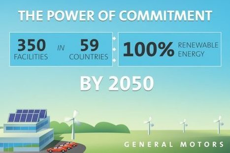 GM Has Committed to 100% Renewable Energy by 2050 | Business as an Agent of World Benefit | Scoop.it