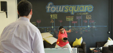 Take A Tour Of Foursquare, The Coolest Startup Office We've Ever Seen - Business Insider | Workspaces | Scoop.it