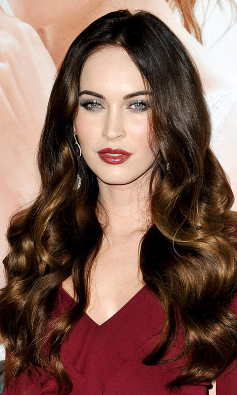 Megan Fox con extensiones de cabello: Ideas e I...