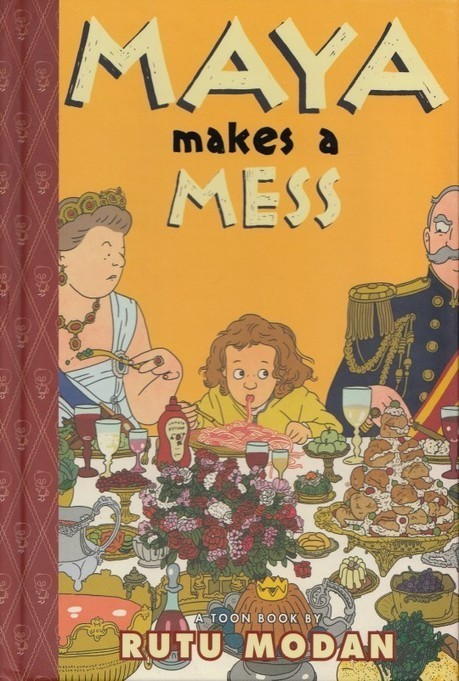 Review: Maya Makes A Mess by Rutu Modan | The Forbidden Planet International Blog Log | Ladies Making Comics | Scoop.it