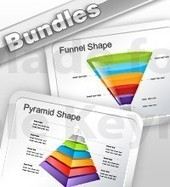 Pyramid and Funnel Diagrams Keynote Bundle | Apple Keynote Slides For Sale | Scoop.it