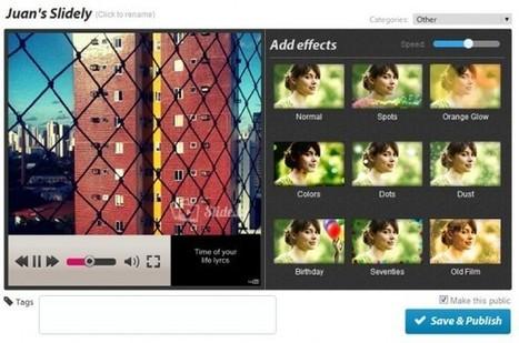 Slide.ly, una fantástica forma de hacer presentaciones con fotos | Aplicaciones web | Scoop.it