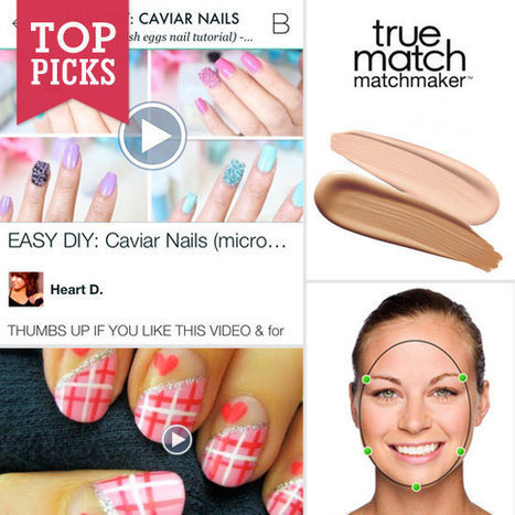 8 Beauty Apps For Your Digital Makeup Bag | Ultratress | Scoop.it