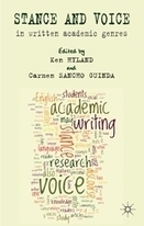 Stance and Voice in Written Academic Genres : Palgrave Macmillan | Translation Studies, Corpus Linguistics, Academia | Scoop.it