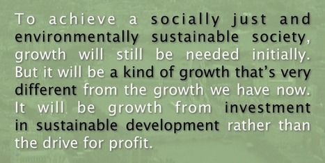 Money creation and sustainable development   Peer2Politics   Scoop.it
