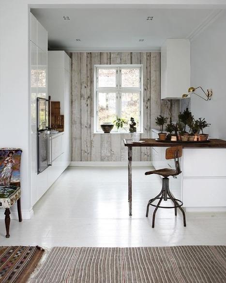 { Pour ou contre } Le papier peint dans la cuisine…? | décoration & déco | Scoop.it