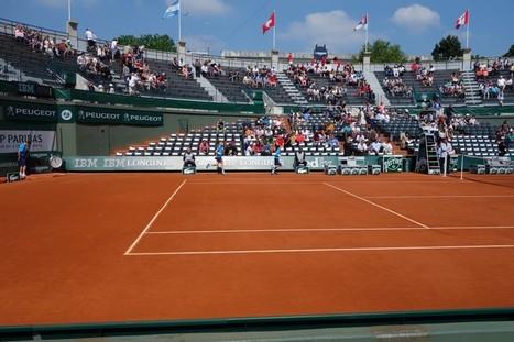 Passer une journée à Roland Garros: ça vaut le coup? - Le temple du tennis | Tennis , actualites et buzz avec fasto-sport.com | Scoop.it