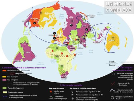 Géopolitique du monde actuel : cartograp