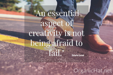 Not Afraid To Fail - Organic Hat | Small Business On The Web | Scoop.it