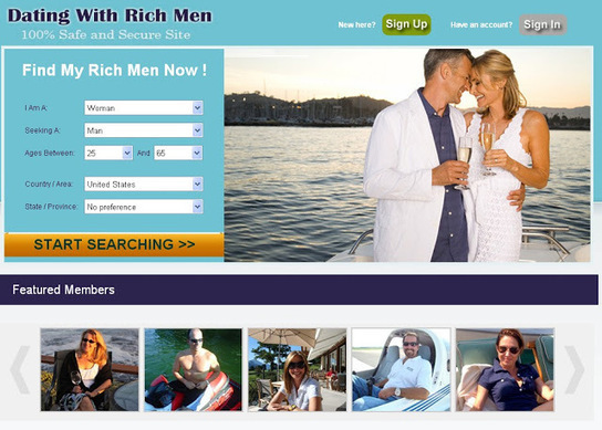 dating site for rich people