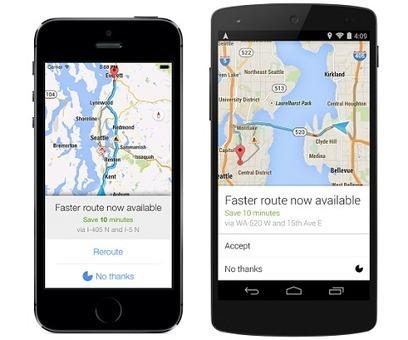 Google Maps per Android segnala adesso il percorso più veloce in caso di traffico | Android News Italia | Scoop.it