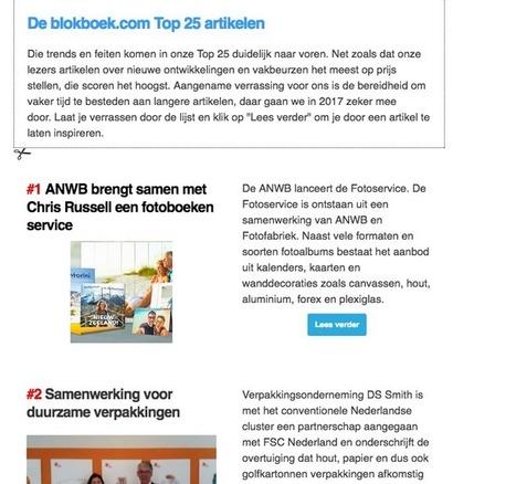 Revival van de email nieuwsbrief - Blokboek - Communication Nieuws | BlokBoek e-zine | Scoop.it