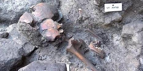 Mont-Saint-Michel : des sépultures du Moyen-Âge mises au jour lors de travaux | LittArt | Scoop.it