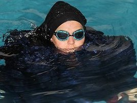 Elephant In The Room: Swimming Record Refused For Showing Too Much Cleavage | Islamization | Scoop.it