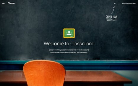 Introduction to Google Classroom - Google Slides | General Technology Info | Scoop.it