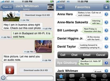 Whatsapp en 6 andere Facebook-killers - Sprout | lifehacking | Scoop.it