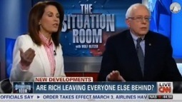 Your prayers are answered: Watch Michele Bachmann and Bernie Sanders face off on CNN | Daily Crew | Scoop.it
