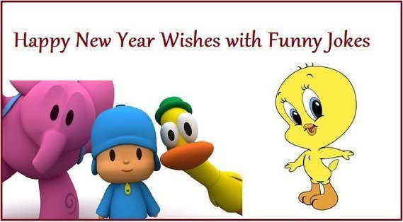 Happy New Year Wishes with Funny Jokes | Entert...