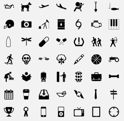 En commun pictogramme gratuit en noir et blanc de tr&egra... @XF_37