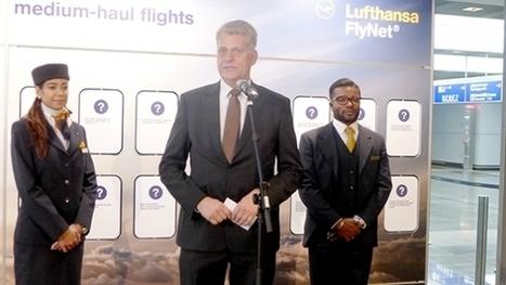 Lufthansa begins trialing broadband on short- and medium-haul flights | digital divide information | Scoop.it