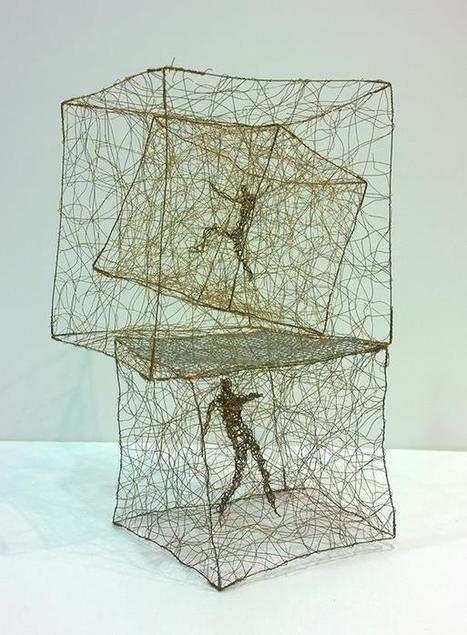 Barbara Licha: wire sculptures | Art Installations, Sculpture, Contemporary Art | Scoop.it
