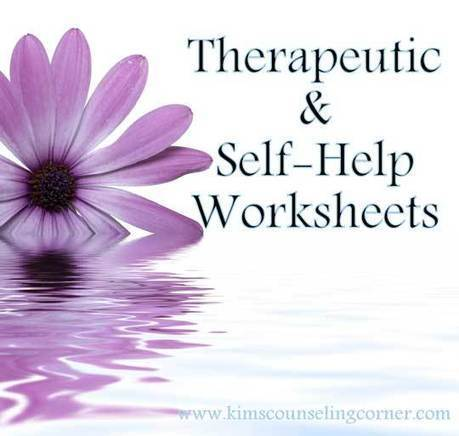Therapy and Self-Help Worksheets - Kim's Counseling Corner | All About Coaching | Scoop.it
