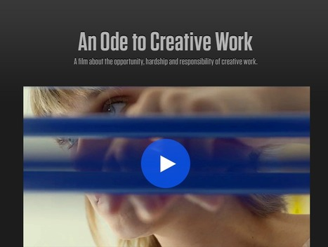 Take Creative Control - An Ode to Creative Work | 3D animation transmedia | Scoop.it