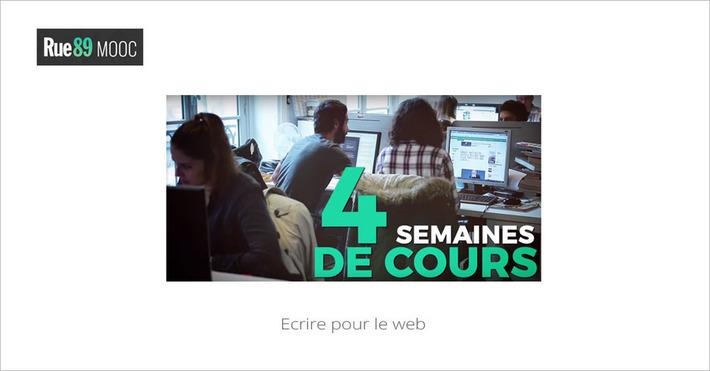 [Novembre] MOOC Ecrire pour le web... le 09/11 | MOOC Francophone | Scoop.it