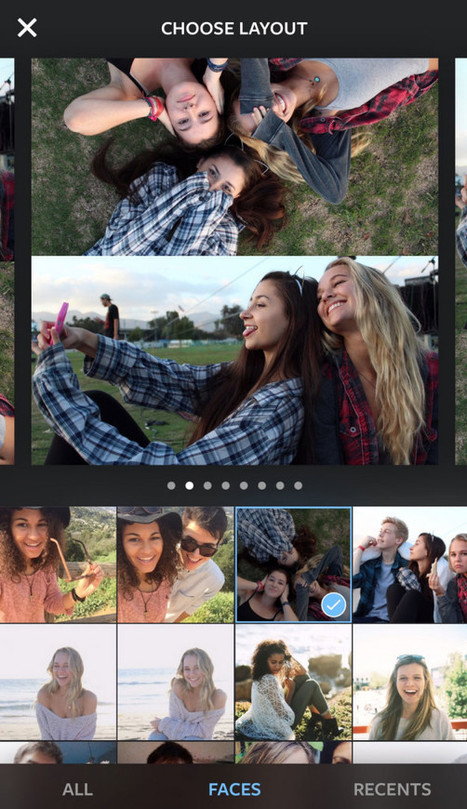 New Instagram Collage App Lets You Take Wild Mirrored Shots - Wired | PHOTOS ON THE GO | Scoop.it