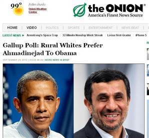 Onion article cited as fact by Iran news agency   Strange days indeed...   Scoop.it
