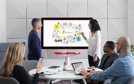 Google dévoile le Jamboard, un tableau numérique Ultra HD | Pédagogie, Education, Formation | Scoop.it